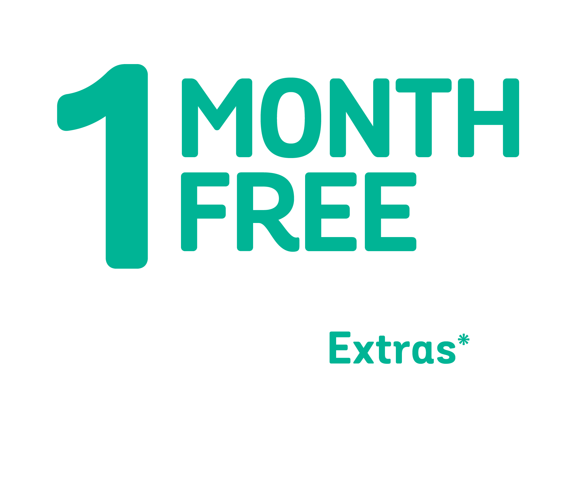 1 month free icon